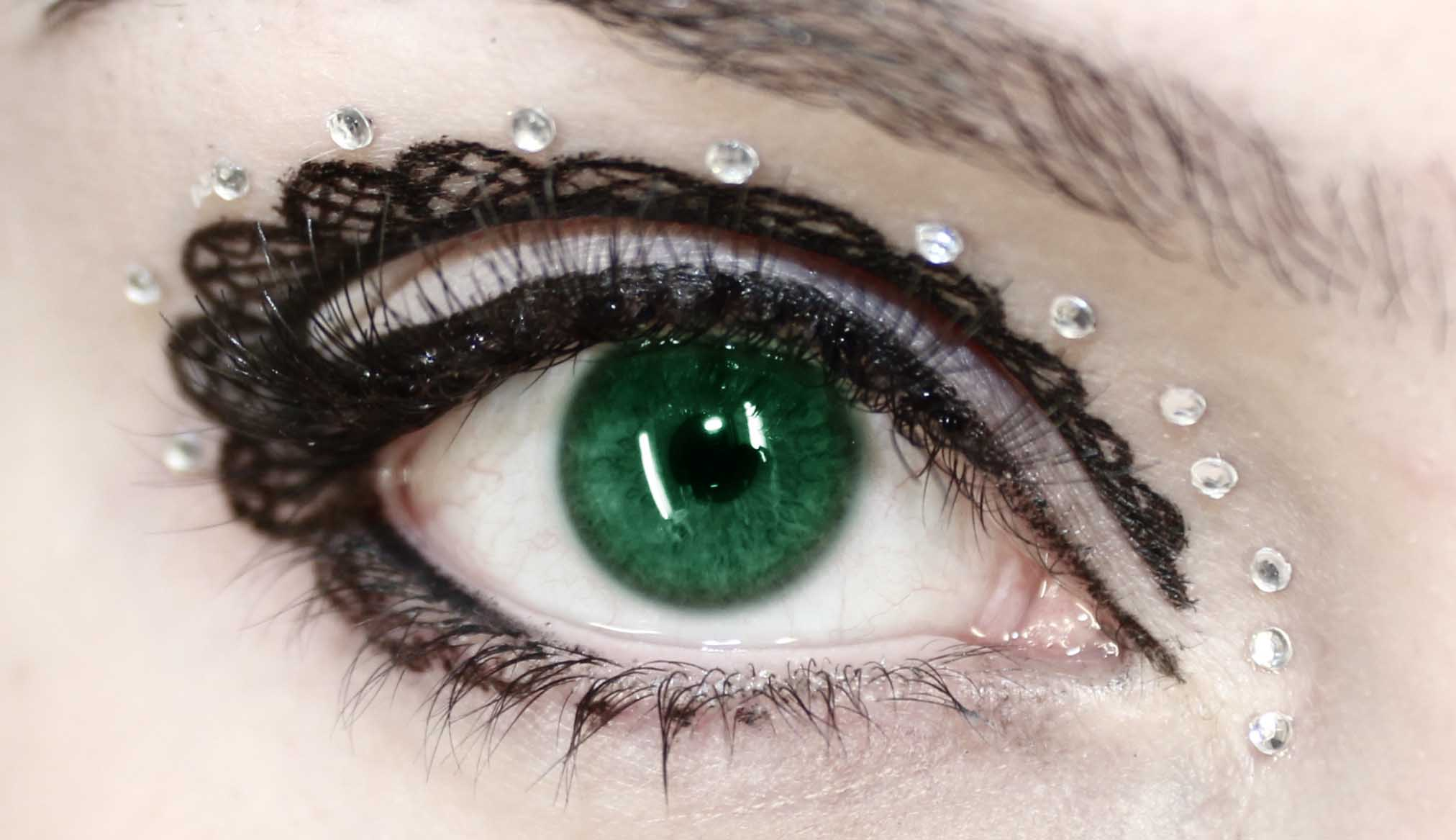 Dark Green Eye Contacts any eye colour but seeing